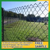China Aurora galvanized temporary chain link fencing EastSt.Louis diamond fence on sale