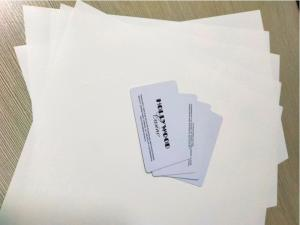 China White Composite Compact Polycarbonate Sheets For High End PC Card Body Production on sale