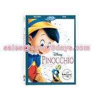 Wholesale Supplier Pinocchio Blu-Ray DVD Disney Movies Cartoon DVD US UK Version Cheap Blu-ray DVD Hot Sale Disney