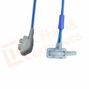 Quality Envoltório reusável do silicone do Neonate do sensor SpO2 do Pin do sensor 6 da for sale