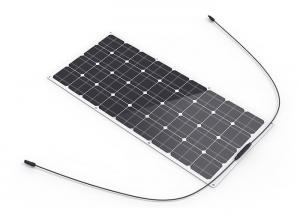 China 36V 90W Semi Flexible High Efficiency Solar Panels  Anti - Extrusion  Light Weight on sale