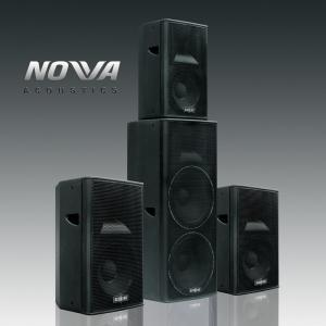 China Double 15 Concert Sound Equipment , Horn Loaded Subwoofer 106dB Sensitivity on sale
