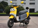 Air Cooled 9.3hp / 7500rpm 12 DOT Tire Mini 150cc Scooter With CVT Engine