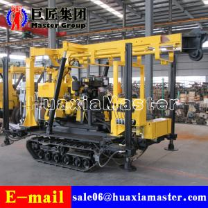 China XYD-130 Cheap 130 Meter Bore Hole Portable Water Well Drilling Rig With Crawler on sale