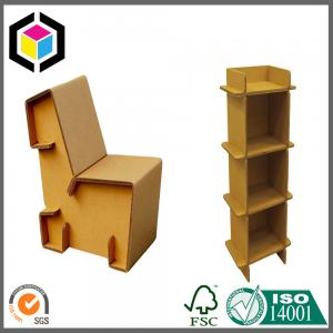 China Strong Corrugated Furniture Desk; Shoe Cabinet Made of Cardboard Kraft Paper on sale