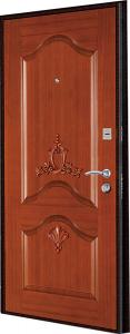 China Italy steel wood security armored door on sale