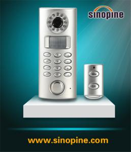 China Standalone PSTN Home Security Alarm with Auto-Dialer on sale