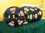 Gradient Color Multicolor Gradient ABS 3d Printer Filament 1.75 / 3.0 Mm 750g