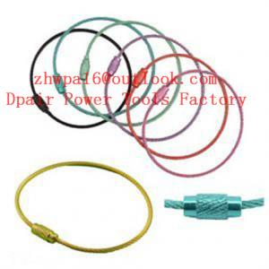 China stainless-steel-wire-chain-steel-wire-ring on sale