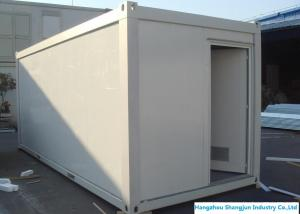 China Easy Installed Prefabricated Steel Buildings Movable Office Container House 20ft / 40ft on sale