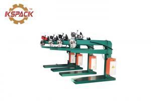 China Corrugated Wire Stapler Box Stitcher Carton Box Making Machine on sale
