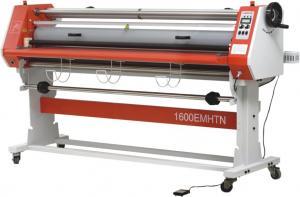 China Pegamento - la máquina de la laminación del rollo del papel de prueba, eléctrica lamina la máquina que lamina on sale