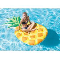 """Pineapple Inflatable Floating Water Park Inflatable Float Mat 85"""" X 49"""""""