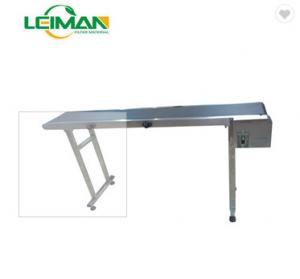 China Efficiency good quality conveyer belt machine for new cars filters/filter machine/new cars/high quality on sale