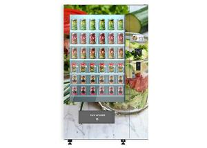 China University School Intelligent Salad Vending Machine , Automated Salad Vending Tower on sale
