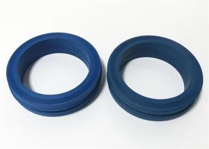 China Blue Color Nitrile NBR Material Hammer Union Seal Without Metal Backup Ring on sale