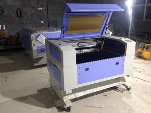 China desktop small mini co2 60w 80w 100w 120w 600*900mm laser engraving cutting machine on sale