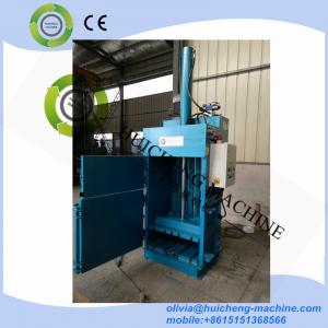 China Hydraulic Vertical Waste Plastic/Paper Press Baler/CE Certification Vertical Baler/Plastic Baling Machine/Waste Paper Ba on sale