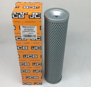 China Jcb Excavator Engine Parts Hydraulic Oil Filter 40-300893 with high quality on sale