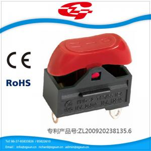 China KND-2 rocker switch power supply electric and electrical pressure switch power for hand dryer switch on sale