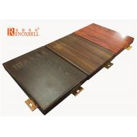 2mm / 2.5mm / 3mm Wooden Decorative Aluminum Wall Panel for Exterior Building