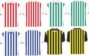 China Изготовленным на заказ футболка Стрипед полиэстером, рубашка футбола человека, быстро сухие рубашки футбола on sale