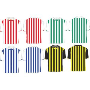 China Jersey de fútbol rayado del poliéster de encargo, camisa del fútbol de la persona, rápidamente camisas secas del fútbol on sale