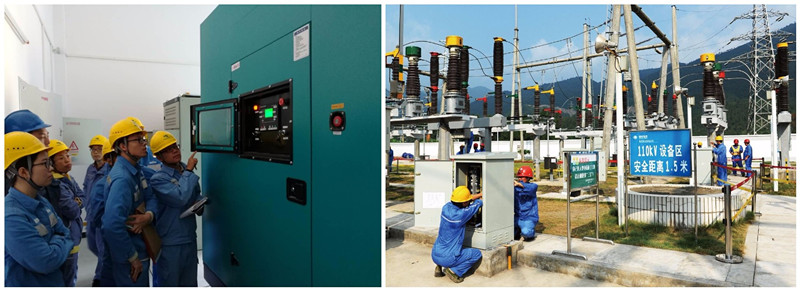 AC Three Phase Water-cooled Silent Diesel Generator 250KW