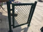 Chain Link Metal Mesh Fencing Standard Stadium Fence For Basketball Count
