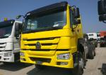 6x4 Heavy Duty Truck Chassis Euro 2 Emission 10 Wheels 226HP Engine
