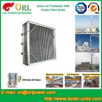 Plate Type Boiler Air Preheater Alloy Steel , Boiler APH Energy Saving