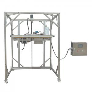 China IEC 60529 Ingress Protection Test Equipment IPX1 IPX2 Movable Vertical Rain Drip Box on sale
