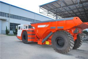 China RT - 30 10 Ton Low Profile Dump Trucks , EPC Mining Dump Truck 15 Cubic Metres on sale