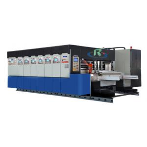 China Lead Edge type Paper Feeding  Die Cutter Printer Slotter for carton box making on sale