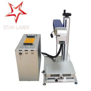 China Fiber CNC Industrial Laser Marking Equipment Red Semi Conductor For Jewelry on sale