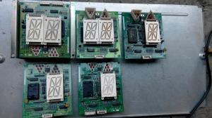 China mitsubishi elevator spare parts SPVF LHD-601A/ms dv-0 Elevator Control panel display panel on sale