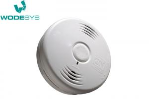 China Hardwired WiFi Smoke And Carbon Monoxide Detector Dual Ionization Sensor With Battery Backup on sale