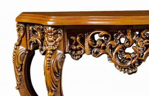 ... Quality European Style Antique Wooden Console Table With Mirror Luxury  Decoration For Sale