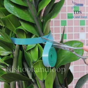 China Double Sided Reusable Cable Ties Hook And Loop DIY Cutting Adjustable Plant Ties on sale