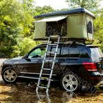 Cross-country Facility 4x4 Universal ABS Hard Top Roof Tent for SUV NISSAN TOYOTA PRADO