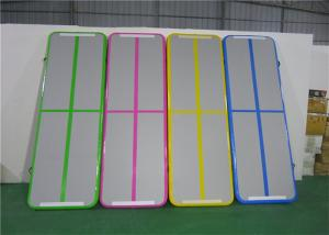 China Gym Sports Air Track Gymnastics Mat , 28kg Air Floor Tumbling Mat AT-4600 on sale