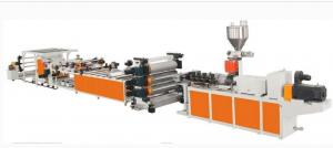 China PP PE PS Plastic Sheet Extrusion Machine for Plastic Sheet Production Line on sale