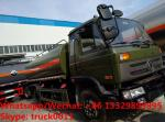 Factory sale best price CLW brand 4*2 LHD diesel stainless steel 11,000Liters oil tank delivery truck,  fuel tank truck