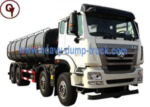 China Sinotruk HOWO Vacuum Sewage Suction Truck , OEM Dump Type Waste Pump Truck on sale