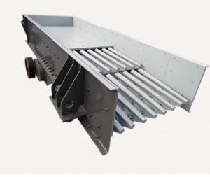 China Stainless Steel Electromagnetic Vibrating Feeder , Stable Vibrating Screen Machine on sale