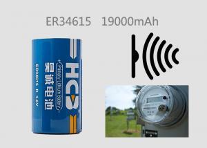 China Bobbin Li-SOCl2 Battery 19000mAh 3.6V D Model 5000mA For Smart Meter Wireless Sensor on sale