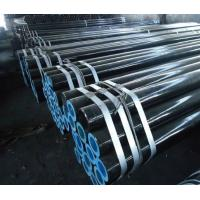 China Type E Grade A & B ASTM A-53 API 5L Seamless Steel Pipes / pipe / Tube on sale