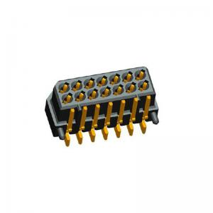 China Right Angle SMT Dual Row Board To Board Power Connector 500 MΩ Min on sale
