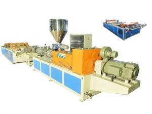 China PVC Corrugated Plastic Roofing Sheet Extrusion Line High Efficiency on sale