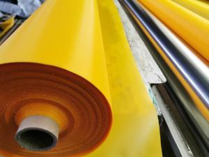 China Yellow 210D TPU Chamber Fabric Inflatable Lifejacket Nylon TPU Fabric on sale